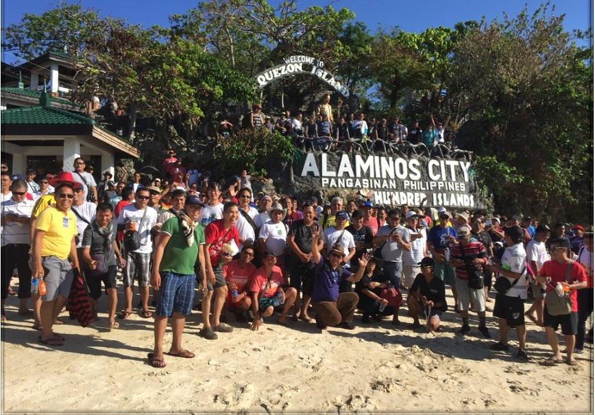 This event was held in Alaminos City, Pangasinanin and was highlighted with a Tree Planting in Alaminos Mangroove Farm and a Boodle Fight Fellowship at the Hundred Island.